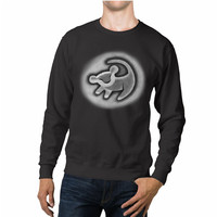 The Lion King Simba Drawing Disney Unisex Sweaters - 54R Sweater
