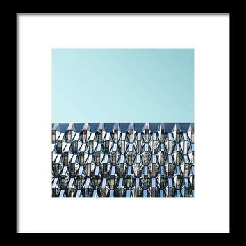 Urban Architecture - Oxford Street, London, United Kingdom 4 - Framed Print