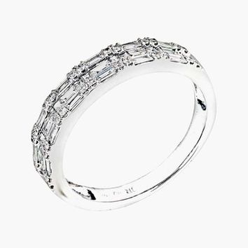 Bony Levy Stackable Diamond Baguette Band Ring (Nordstrom Exclusive) | Nordstrom