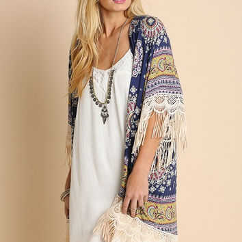 Lighthearted Summer Cardigan - Navy