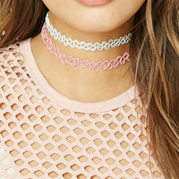 Tattoo Choker Set