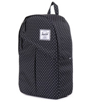 Herschel Supply Co.: Parker Backpack - Black / Polka Dot Small