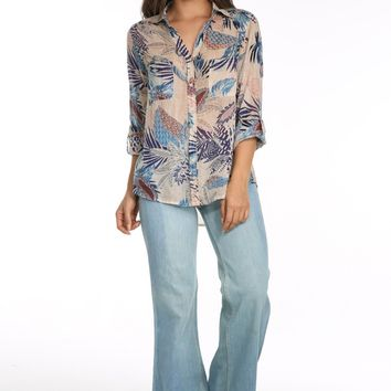 Tropic Vibes Button Down