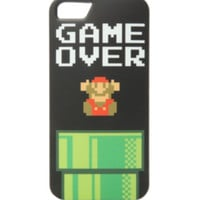 Nintendo Super Mario Bros. Game Over iPhone 5/5S Case
