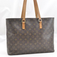 Authentic Louis Vuitton Monogram Luco Tote Bag M51155 LV 53322