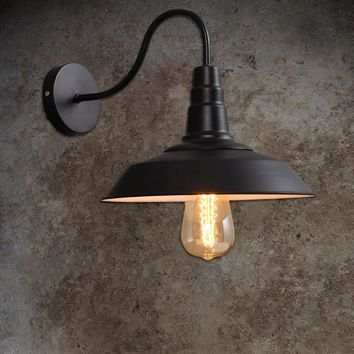 Industrial Vintage Hanging Wall Lamp Night Light