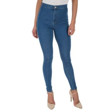 Miss Selfridge Women's Contemporary Power Stretch High Waisted Skinny Jeans at Von Maur