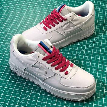 Nba Customize Nike Air Force 1 Low Af1 Premium Id Miami Heat Sport Shoes - Best Online Sale