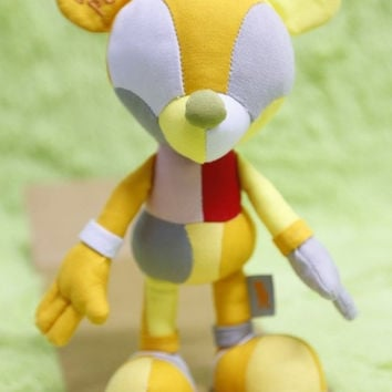 "Touma Toumart Disney Mickey Mouse Elements Of Colors Of Pooh 8"" Plush Doll Figure"