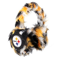 Pittsburgh Steelers Official NFL Oversized Plush Earmuffs