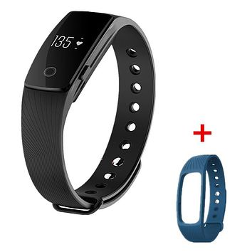 ID107 Bluetooth Smartband Heart Rate Monitor Wristband Fitness Flex Bracelet for Android iOS PK xiomi mi Band 2 fitbits smart