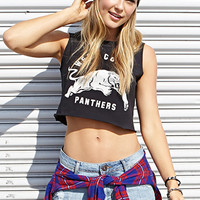 West Coast Panthers Crop Top
