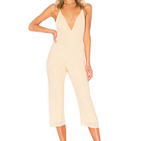 Privacy Please League Jumpsuit in Orange | REVOLVE