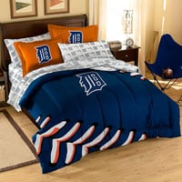 Detroit Tigers MLB Bed in a Bag (Contrast Series)(Full)