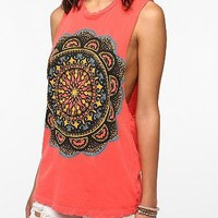 Title Unknown Sun Medallion Muscle Tee