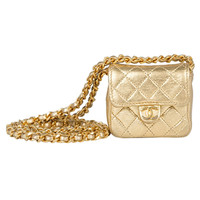 Chanel Vintage Mini Quited Shoulderbag