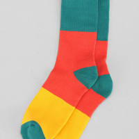 Urban Outfitters - Wide Colorblock Sock