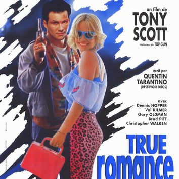 True Romance (French) 11x17 Movie Poster (1993)