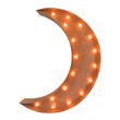 Crescent Moon Light Up Symbol Marquee Sign