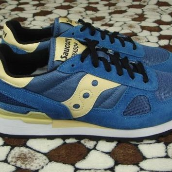West NYC x Saucony Shadow Original Sneakers - Blue/Beige