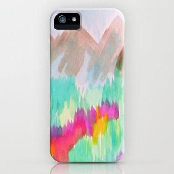 The Hiker iPhone Case by Erin Jordan | Society6
