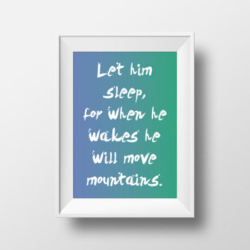 Boys Nursery Art, Printable Quotes, Baby Boy Quotes, Shower Gifts, Printable Art, 8x10 Nursery Poster