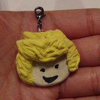 Niall Horan One Direction Chibi Polymer Clay Charm