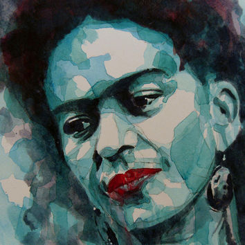 Frida Kahlo Painting by Paul Lovering - Frida Kahlo Fine Art Prints and Posters for Sale