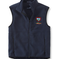 Maine Inland Fisheries and Wildlife Fleece Vest, Brook Trout: Fishing Vests | Free Shipping at L.L.Bean