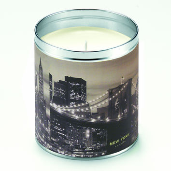 New York Skyline Candle