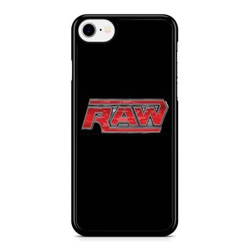 Wwe Raw Logo 2 iPhone 8 Case