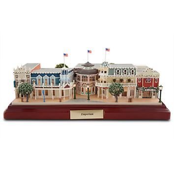 Disney Parks Walt Disney World Resort Emporium Miniature by Olszewski New With Box