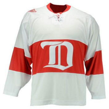 DCCKG8Q NHL Reebok Detroit Red Wings Mens Team Classic Jersey