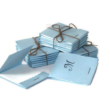 Baby Boy Baby Shower Notepads- Mini- Note Pads - Set of 6