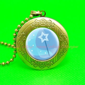 my little pony great and powerful trixie unicorn cutie mark mlppendant locket necklace, girl gift