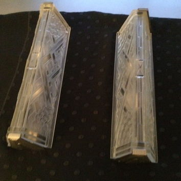 Rare Sabino French Art Deco Sconces, Circa 1930's