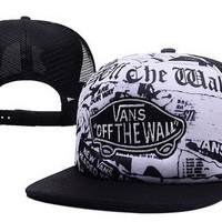 VANS Women Men Embroidery Sports Hip Hop Baseball Cap Hat-30