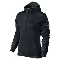 Nike Store. Nike Thermal Half-Zip Women's Running Hoodie