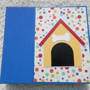 6x6 Premade Dog Scrapbook Album