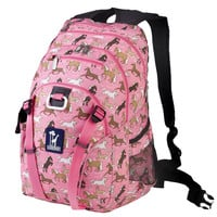 Horses in Pink Serious Backpack - 53020