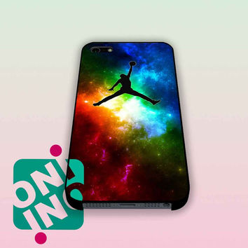 Galaxy Jordan Logo iPhone Case Cover | iPhone 4s | iPhone 5s | iPhone 5c | iPhone 6 | iPhone 6 Plus | Samsung Galaxy S3 | Samsung Galaxy S4 | Samsung Galaxy S5