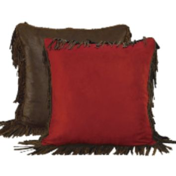 Cowgirl Kim Red Rodeo Euro Shams~ Shams Only