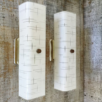 Wall Sconces Mid Century Wall Lamps Retro Glass Wall Sconce Lights Brass and Glass Wall Sconces Mid Century Wall Lights Retro Lighting