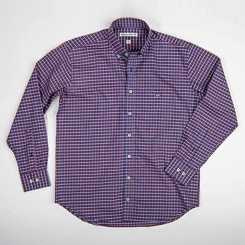The Hadley Tattersall Shirt by Southern Point Co.