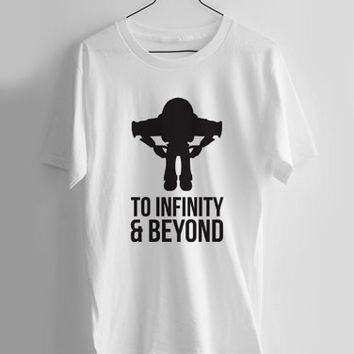 Toy Story Buzz Lightyear To Infinity & Beyond T-shirt Men, Women Youth and Toddler