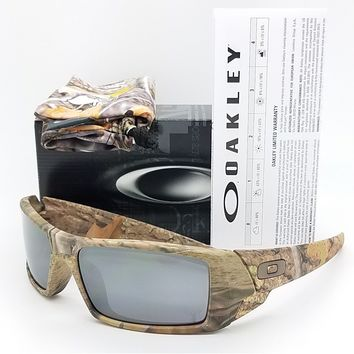 a9e33c7d464 NEW Oakley Gascan sunglasses King s Woodland Camo Black Iridium 03-483 gas  can