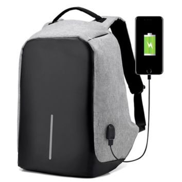 Anti-theft Laptop Backpack with USB Charging Port, Large Capacity Waterproof School Bag for College Student Work