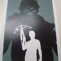 The Walking Dead Daryl poster print
