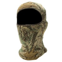 QuietWear Digital Knit Camo One-Hole Mask - Men, Size: One Size (Grey)