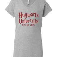 Hogwarts University Class of 2015 Ladies And Unisex Tshirt Hogwarts potter Fan Harry Potter Hogwarts Tee